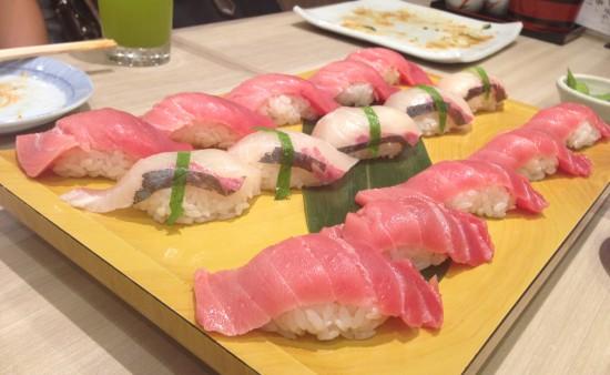 中とろ ハマチ 寿司