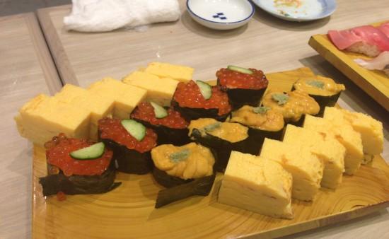 うに いくら たまご 寿司