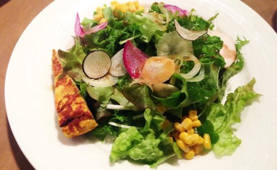 本日のサラダ