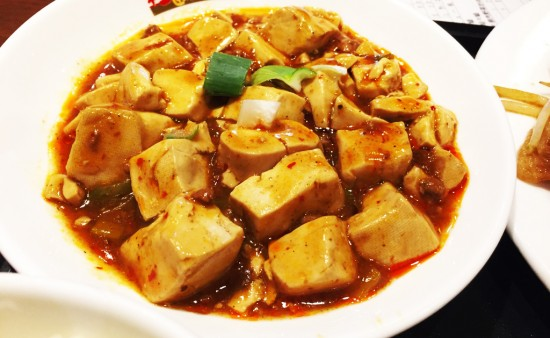 桂園の麻婆豆腐