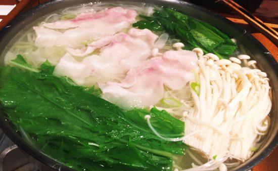 豚しゃぶ野菜
